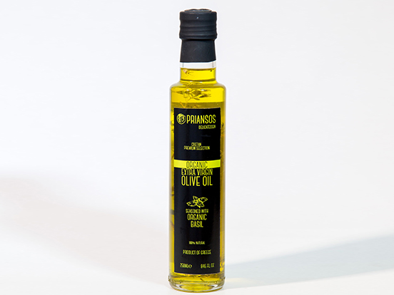 Organic Olive Oil with Basil