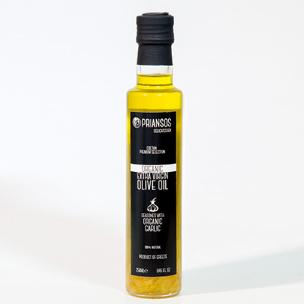 Organic Olive Oil with Garlic