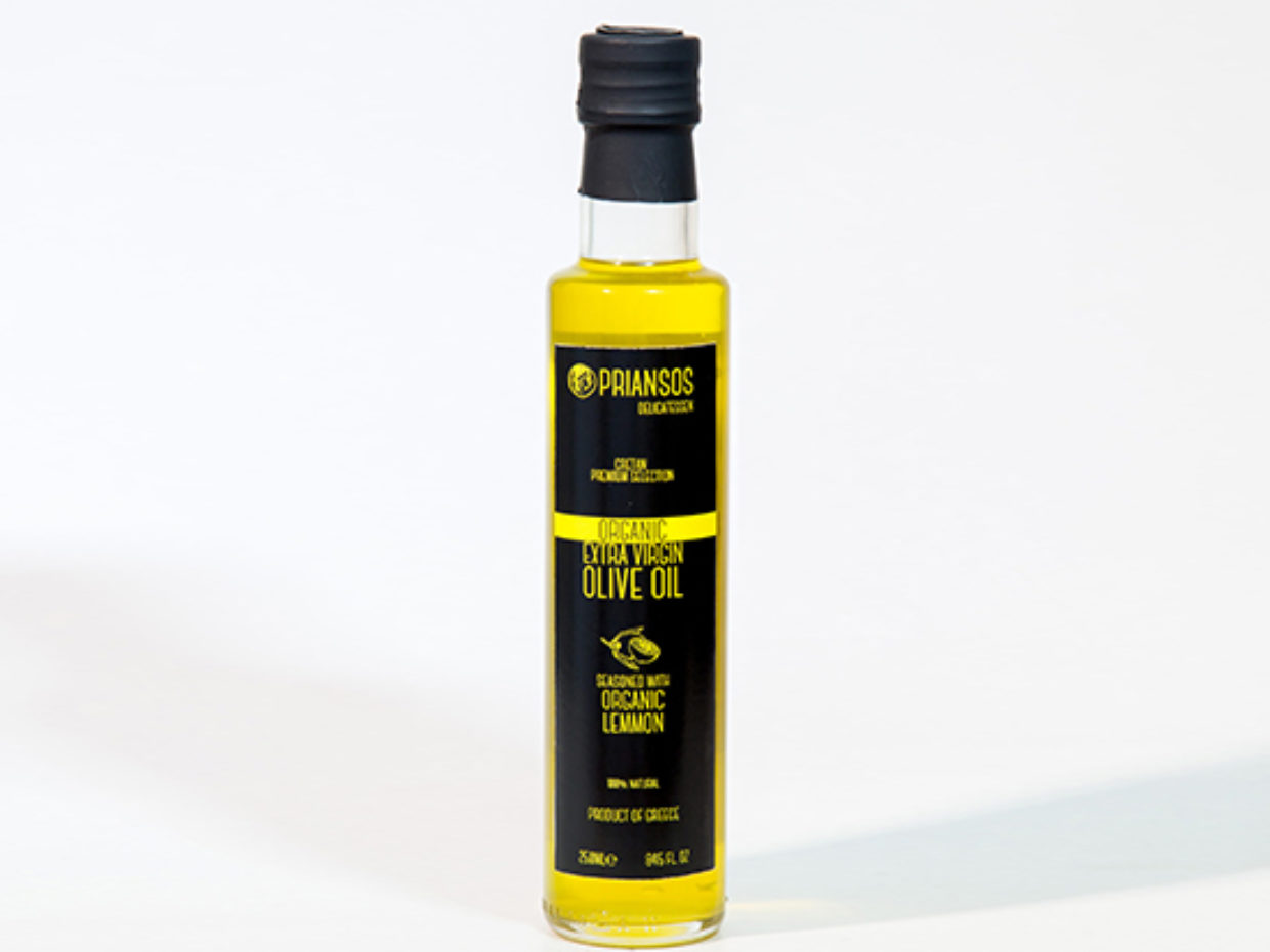 Organic Olive Oil with Lemon
