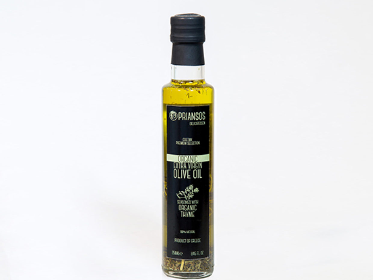 Organic Olive Oil with Thyme